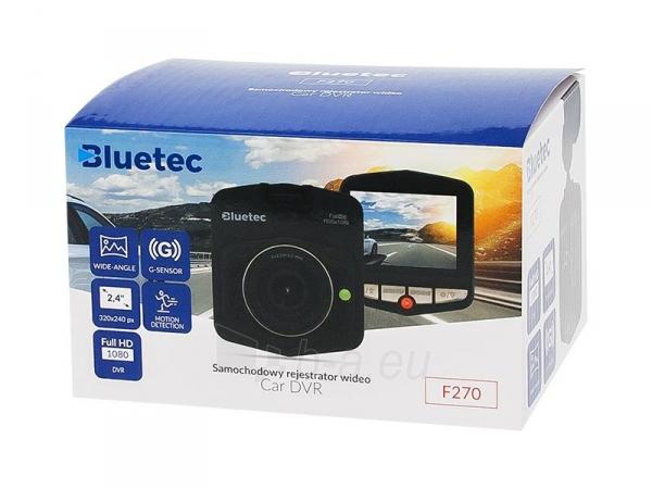 Vaizdo registratorius F270 Bluetec Paveikslėlis 2 iš 3 310820168154