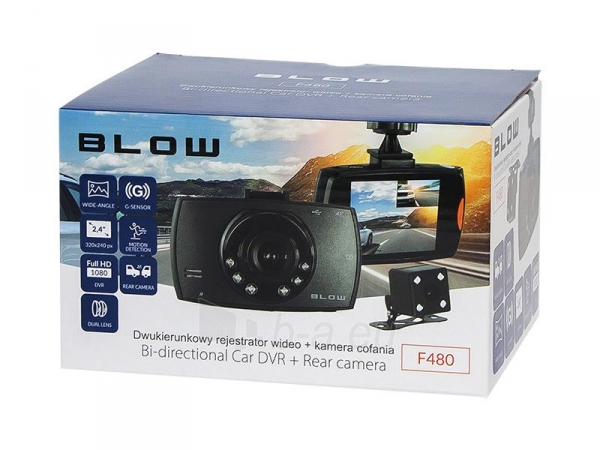 Vaizdo registratorius F480 BLOW Paveikslėlis 2 iš 3 310820166452