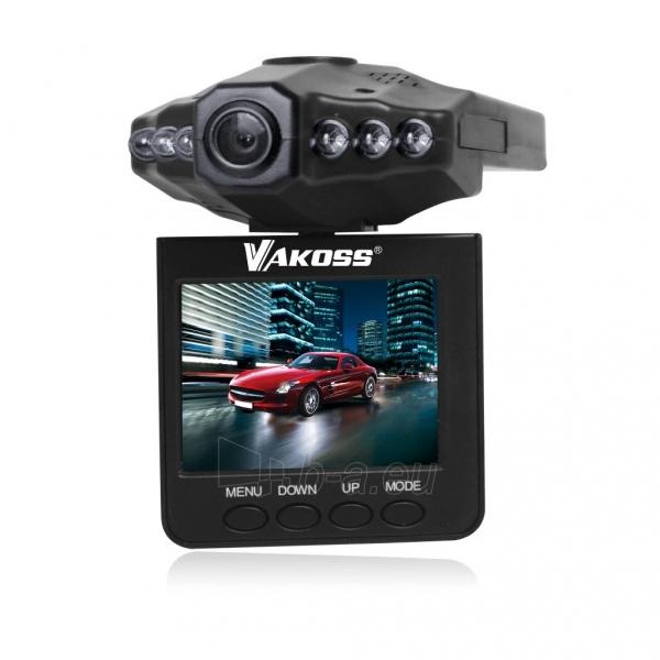 Vaizdo registratorius Vakoss HD VC-605 juodas Paveikslėlis 1 iš 3 310820094738