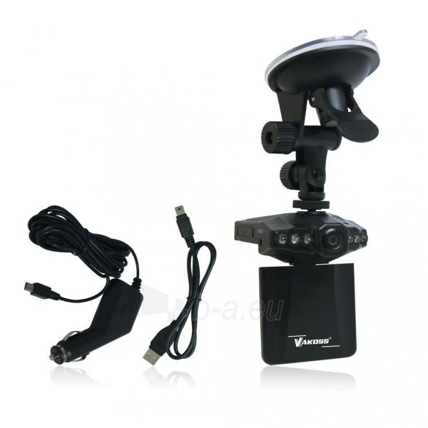 Vaizdo registratorius Vakoss HD VC-605 juodas Paveikslėlis 2 iš 3 310820094738