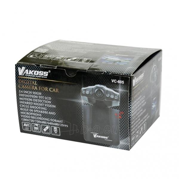 Vaizdo registratorius Vakoss HD VC-605 juodas Paveikslėlis 3 iš 3 310820094738