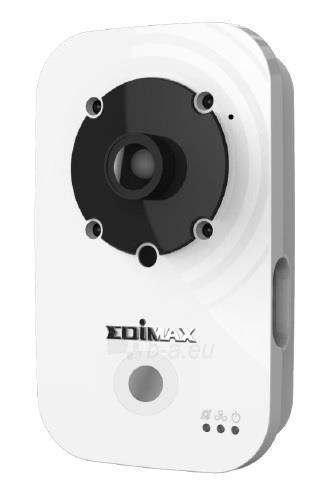 Edimax 720p Wireless H.264 IR IP Camera, PIR sensor, 2-way audio, Night view Paveikslėlis 1 iš 9 250243100510