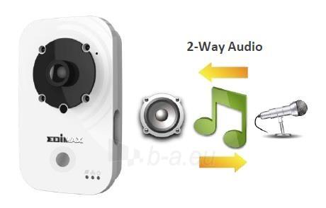 Edimax 720p Wireless H.264 IR IP Camera, PIR sensor, 2-way audio, Night view Paveikslėlis 5 iš 9 250243100510