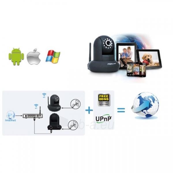 Foscam IP camera FI9851P WLAN 2.8mm H.264 720p Plug&Play Paveikslėlis 6 iš 6 250243100623