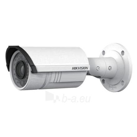 Vaizdo stebėjimo kamera Hikvision IP camera DS-2CD2642FWD-IS Bullet, 4 MP, 2.8-12mm, Power over Ethernet (PoE), IP66, H.264/MJPEG/H.264+, Micro SD, Max.128GB Paveikslėlis 1 iš 1 310820095972
