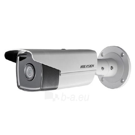 Vaizdo stebėjimo kamera Hikvision IP camera DS-2CD2T43G0-I8 Bullet, 4 MP, 4mm, Power over Ethernet (PoE), IP67, H.265+, H.265, H.264+, H.264, Micro SD, Max.128GB Paveikslėlis 1 iš 1 310820128491