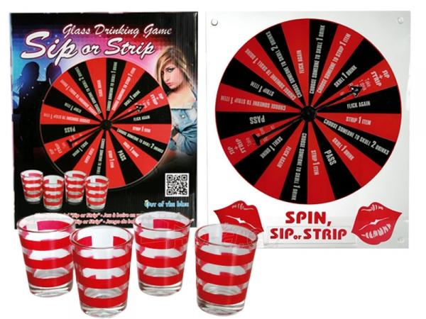 Vakarėlių žaidimas Suk, išgerk arba nusirenk! Paveikslėlis 1 iš 5 251010000099