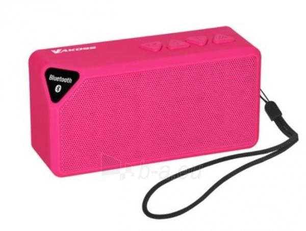 VAKOSS Belaidis Bluetooth garsiakalbis su mikrofonu SP-B1824PK Rožinė Paveikslėlis 1 iš 2 250255800463