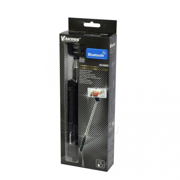 VAKOSS Bluetooth Asmenukių lazda su zoom ST-1653K juodas Paveikslėlis 3 iš 3 310820037463