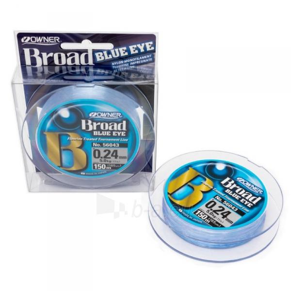 Valas OWNER Broad Blue 150m 0.24mm Paveikslėlis 1 iš 1 310820253997