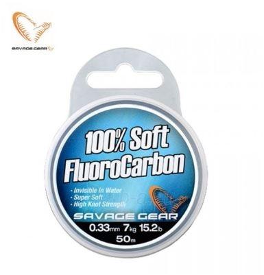 Valas SG Soft Fluoro Carbon 50m., 0.33 mm Paveikslėlis 1 iš 1 310820233515