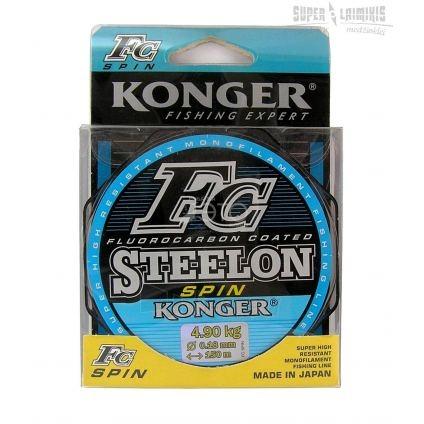 Valas Steelon FC Spin 0.22mm 150m, 0.22 mm Paveikslėlis 1 iš 1 310820234132