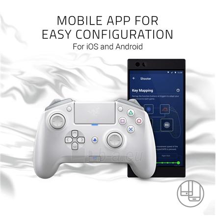 Valdiklis Razer Wireless and Wired Gaming Controller, Raiju Tournament Edition Paveikslėlis 4 iš 4 310820221442