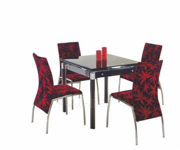 Valgomojo stalas Kent juodas Paveikslėlis 1 iš 1 310820017055