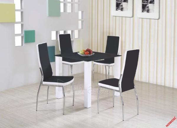 Valgomojo stalas Merlot kvadratas Paveikslėlis 1 iš 2 310820015137