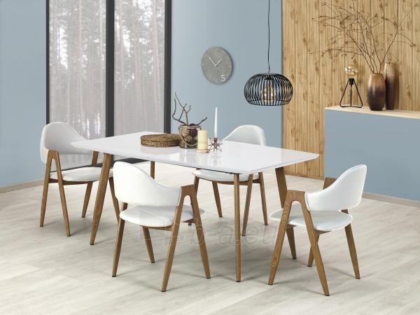 Valgomojo stalas RUTEN baltas Paveikslėlis 1 iš 1 310820195240