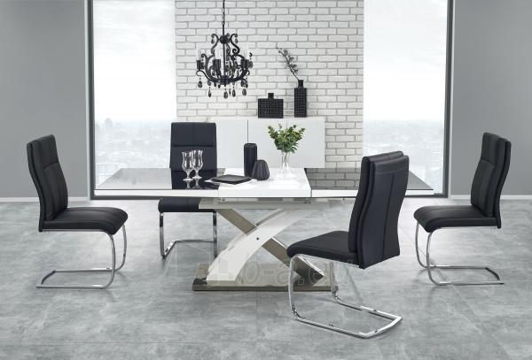 Valgomojo stalas SANDOR 2 juoda Paveikslėlis 1 iš 4 310820195243