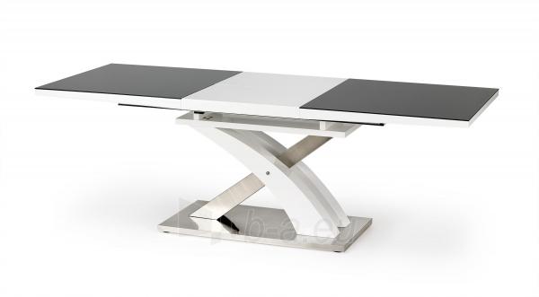 Valgomojo stalas SANDOR 2 juoda Paveikslėlis 4 iš 4 310820195243