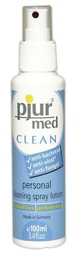 Valiklis Pjur Med Clean Spray 100 ml Paveikslėlis 1 iš 1 310820022094