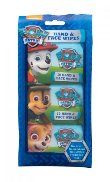 Valomosios servetėlės Nickelodeon Paw Patrol Hand & Face 30pc Paveikslėlis 1 iš 1 310820209703