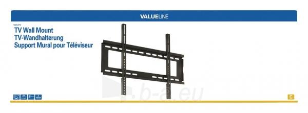 Valueline TV sieninis laikiklis 42 - 65/107 - 165 cm 45 kg Paveikslėlis 2 iš 3 310820037643