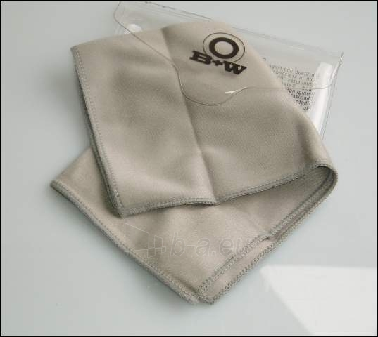Valymo servetėlė B+W Cleaning Tissue 36x29 cm Paveikslėlis 1 iš 1 2502220409001382