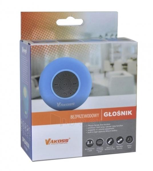 Vandeniui atsparus Bluetooth garsiakalbis su siurbtukas VAKOSS SP-B1806B mėlynas Paveikslėlis 3 iš 3 310820041042