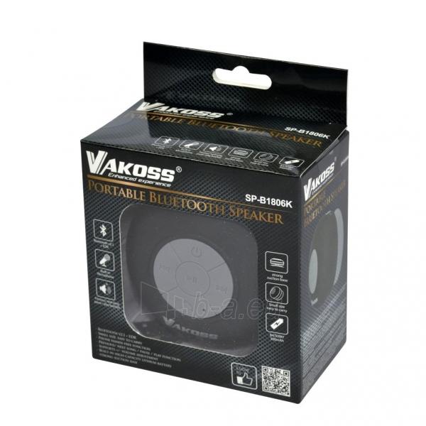Vandeniui atsparus Bluetooth garsiakalbis su siurbtukas VAKOSS SP-B1806K juodas Paveikslėlis 2 iš 3 310820041041
