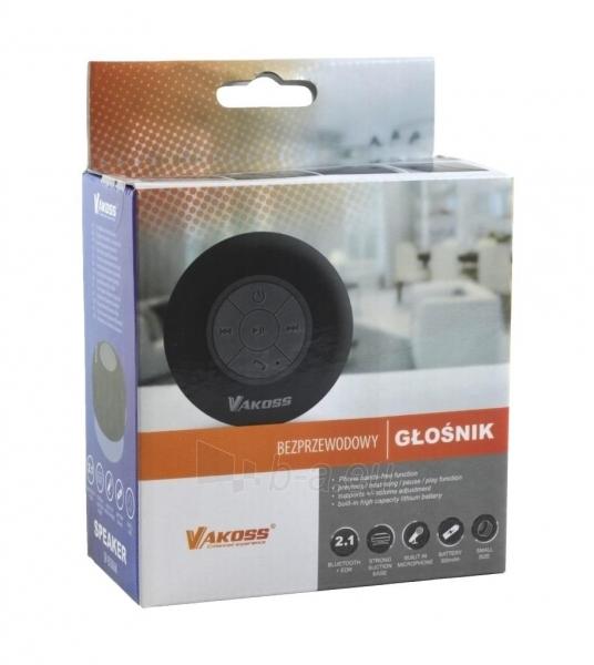 Vandeniui atsparus Bluetooth garsiakalbis su siurbtukas VAKOSS SP-B1806K juodas Paveikslėlis 3 iš 3 310820041041