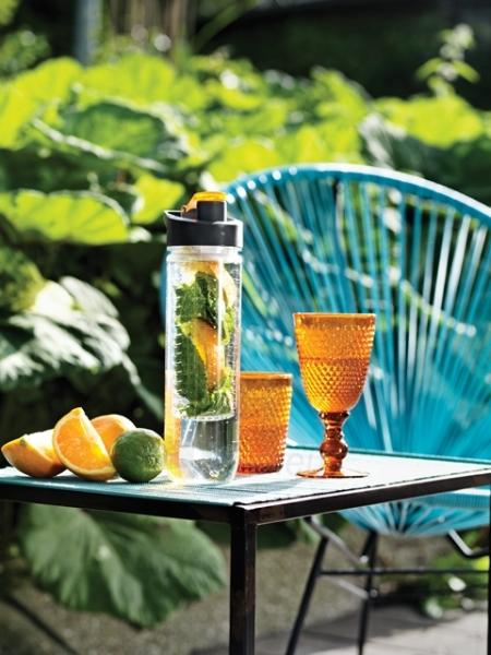 Vandens buteliukas su sieteliu, oranžinis Paveikslėlis 6 iš 7 310820012696