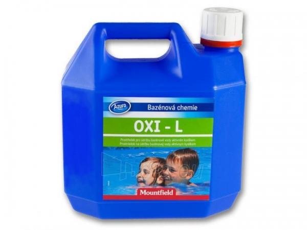 Vandens dezinfekatorius su aktyviuoju deguonimi OXI -L, 3L Paveikslėlis 1 iš 1 30092500020