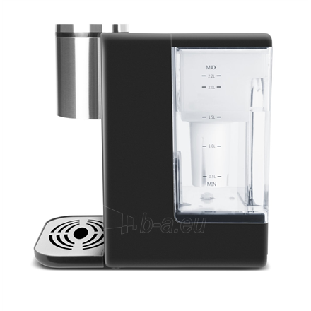 Vandens kaitintuvas Caso Turbo hot water dispenser HW500 With electronic control, Black/Stainless steel, 2600 W, 2.2 L Paveikslėlis 3 iš 4 310820225427
