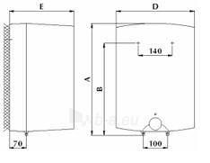 Vandens šildytuvas Gorenje GT 15 O Paveikslėlis 2 iš 2 310820253650