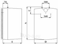 Vandens šildytuvas Gorenje GT 15 U Paveikslėlis 2 iš 2 310820253651