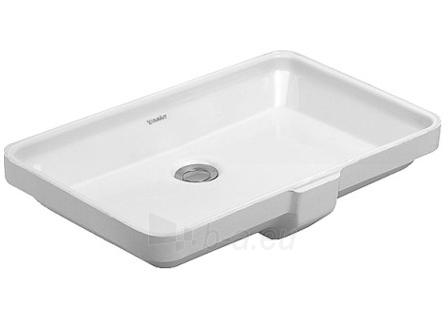 Vanity basin 53cm 2nd Floor, white Paveikslėlis 1 iš 1 270711000980