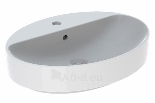 VariForm pastatomas praustuvas, baltas, ovalus, 60 cm Paveikslėlis 1 iš 3 310820165634