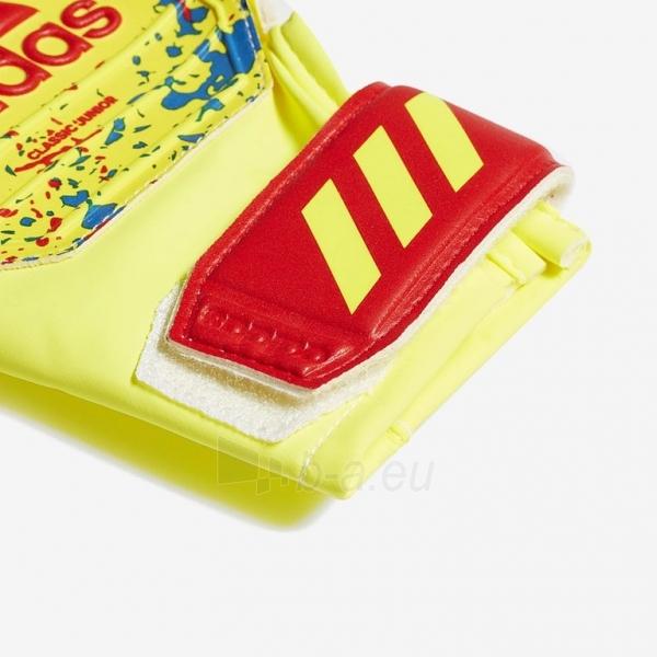 Vartininko pirštinės ADIDAS CLASSIC TRAINING JR DT8748 yellow-red-blue, red logo Paveikslėlis 4 iš 4 310820172514