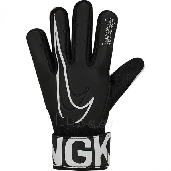 Vartininko pirštinės Nike GK Match JR-FA19 GS3883 010 Paveikslėlis 2 iš 3 310820217834