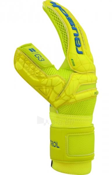 Vartininko pirštinės REUSCH FIT CONTROL SD OPEN CUFF JR 39/72/515/588 yellow Paveikslėlis 5 iš 6 310820179790