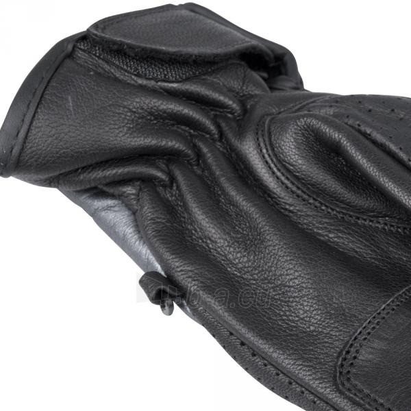 Vasarinės odinės motociklininko pirštinės W-TEC NF-4150, Spalva pilka, Dydis M Paveikslėlis 6 iš 10 310820243929