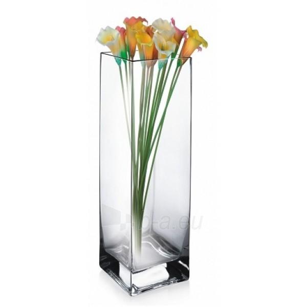 Vaza stikl. 30cm 2711KWADRAT Paveikslėlis 1 iš 1 310820062069