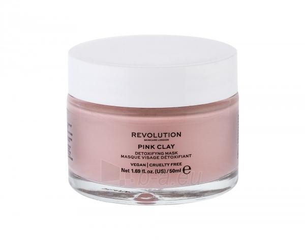 Veido kaukė Makeup Revolution London Skincare Pink Clay 50ml Paveikslėlis 1 iš 1 310820223989