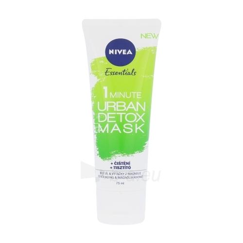 Veido kaukė Nivea Essentials 1 Minute Urban Detox Mask Cosmetic 75ml Paveikslėlis 1 iš 1 310820103697