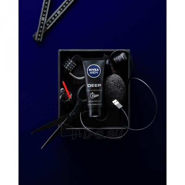 Veido kaukė Nivea Men (Deep Control) 75ml Men´s Black Coat Cleansing Mask Paveikslėlis 6 iš 10 310820181387