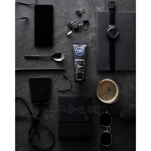 Veido kaukė Nivea Men (Deep Control) 75ml Men´s Black Coat Cleansing Mask Paveikslėlis 5 iš 10 310820181387