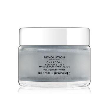Veido kaukė Revolution Revolution Skincare, Charcoal Purifying, Face Mask Paveikslėlis 1 iš 4 310820194807