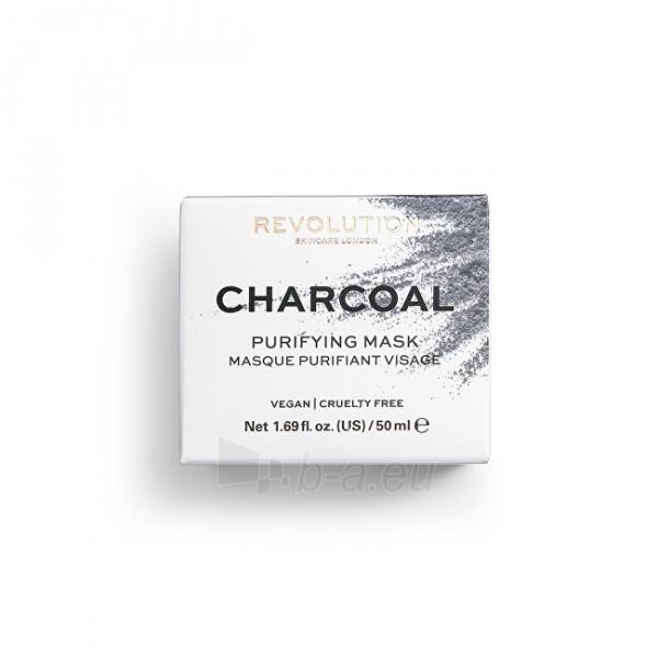 Veido kaukė Revolution Revolution Skincare, Charcoal Purifying, Face Mask Paveikslėlis 2 iš 4 310820194807