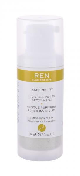 Veido kaukė sausai odai REN Clean Skincare Clarimatte Invisible Pores Detox 50 ml Paveikslėlis 1 iš 1 310820224118