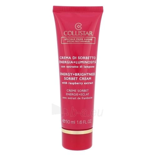 Veido cream Collistar Energy Brightness Sorbet Cream Raspberry Extract Cosmetic 50ml Paveikslėlis 1 iš 1 310820010818
