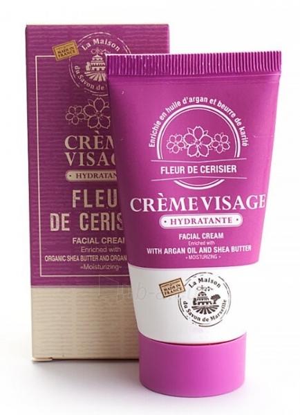 Veido kremas La Maison du Savon de Marseille Pleť Cream (Fleur de cerisier) 50 ml Paveikslėlis 1 iš 1 310820170214